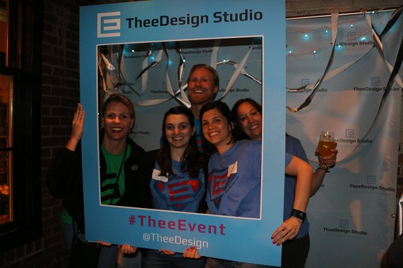 TheeTeam in the Photo Booth