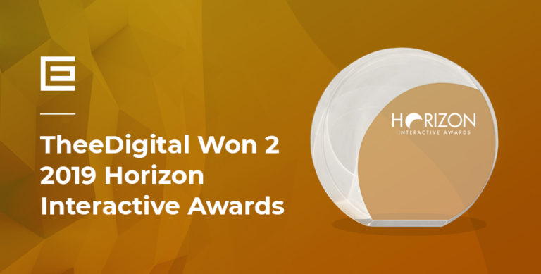 TheeDigital Wins Horizon Web Design Awards