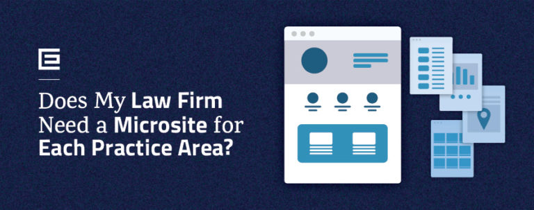 Law Firm Need Microsite - Blog