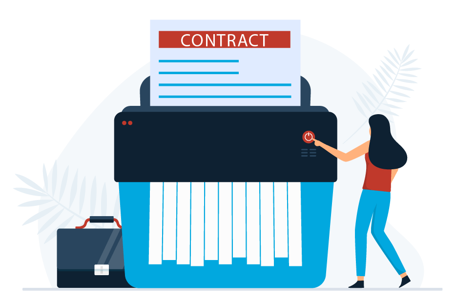 No long term contracts